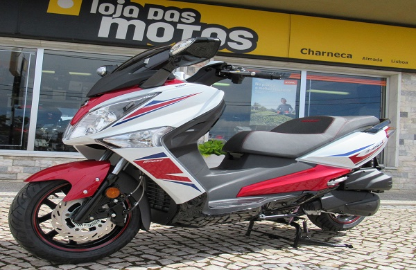 New Color Sym Gts 125 Sport